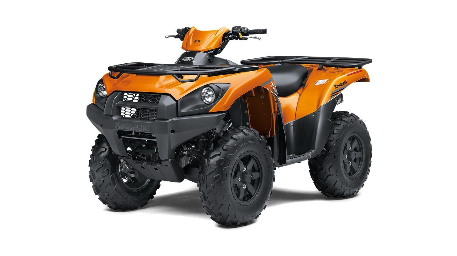 2020 Kawasaki BRUTE FORCE 750 4x4i EPS Candy Steel Furnace Orange