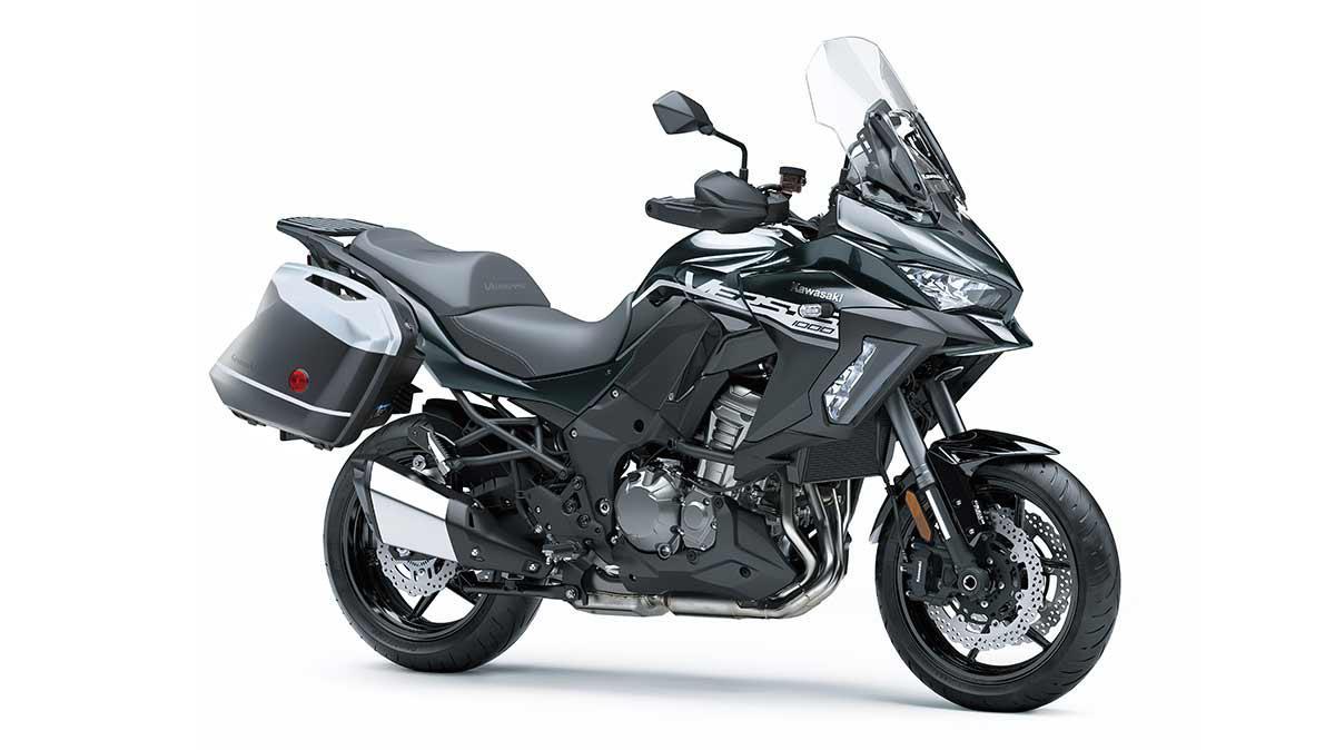 Kawasaki VERSYS 1000 ABS LT SE Noir Étincelle Métallisé / Gris Carbone Mat Métallisé 2020