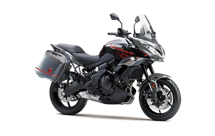 2021 Kawasaki VERSYS 650 ABS LT Metallic Moondust Gray / Metallic Spark Black