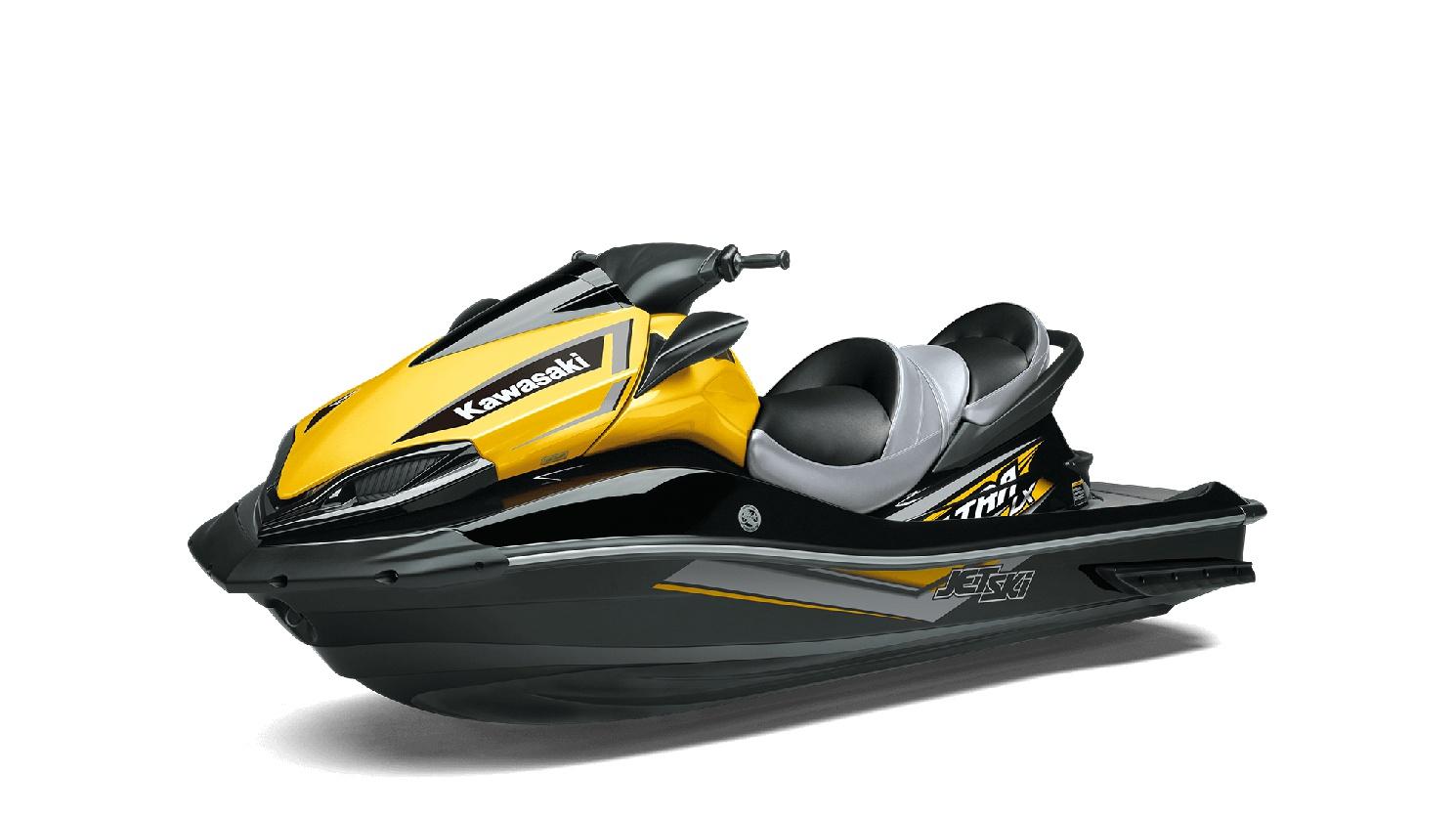 2020 Kawasaki JET SKI ULTRA LX Ebony/Pearl Citrus Yellow