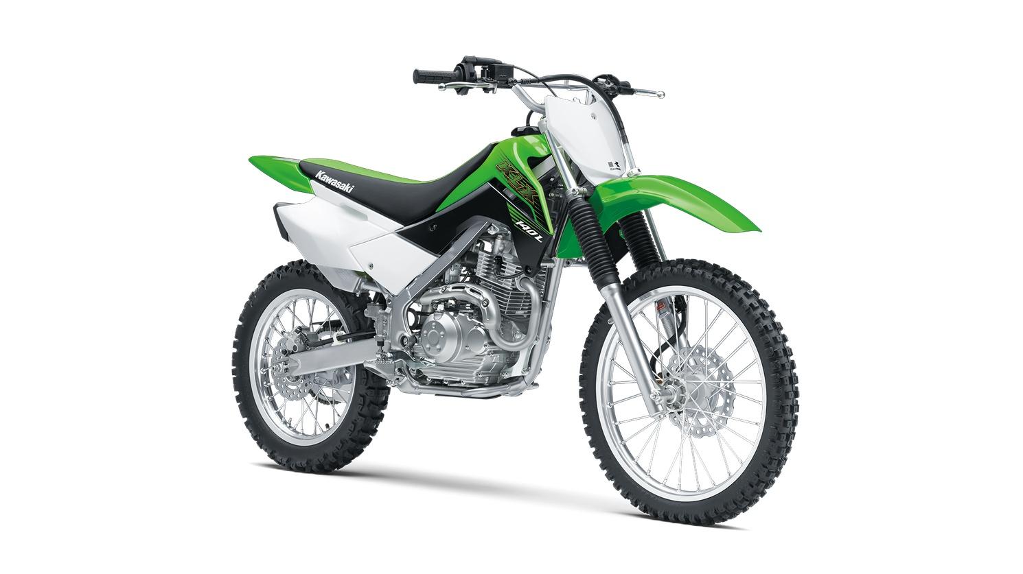 2020 Kawasaki KLX140L Lime Green