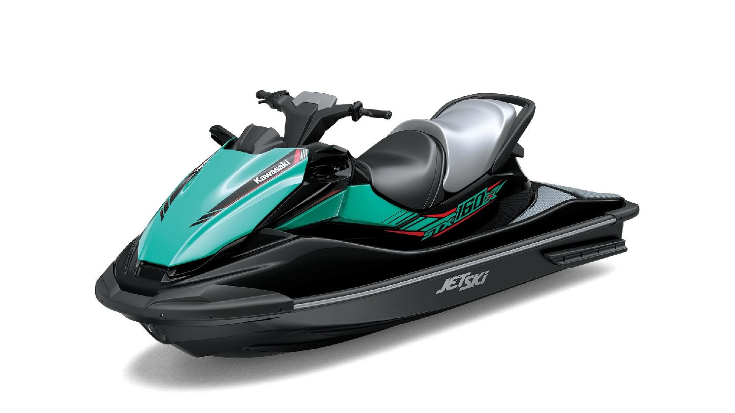2020 Kawasaki JET SKI STX-160X Ebony/Turquoise