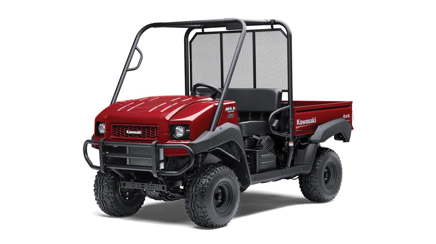 2021 Kawasaki MULE 4010 4×4 Dark Royal Red