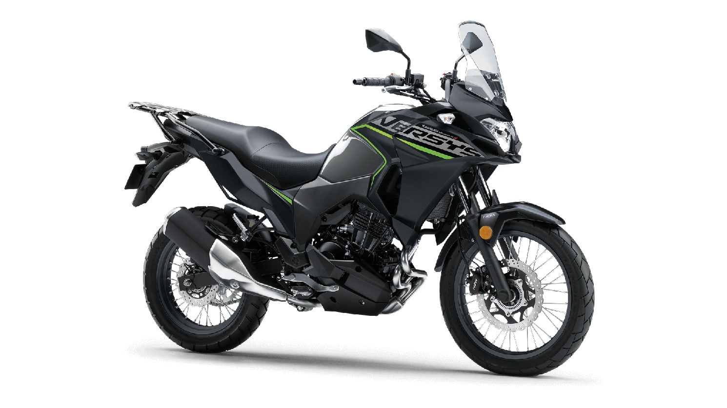 2020 Kawasaki VERSYS-X 300 ABS Metallic Moondust Gray/Metallic Flat Spark Black
