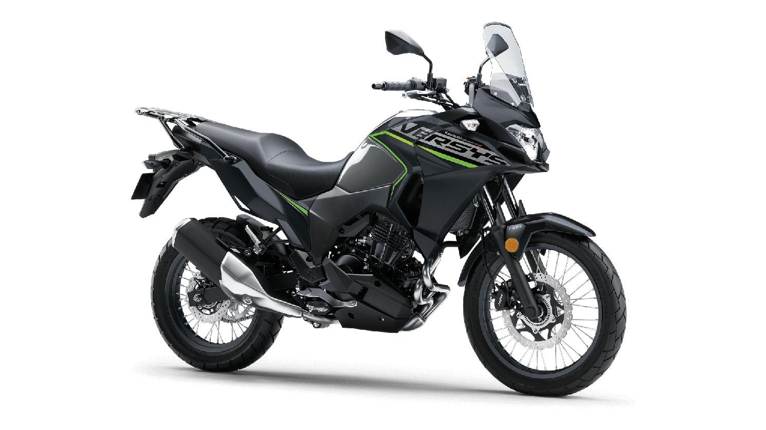 Kawasaki VERSYS-X 300 ABS Gris Poussière D'Étoiles Métallisé/Noir Étincelant Métallisé Mat 2020