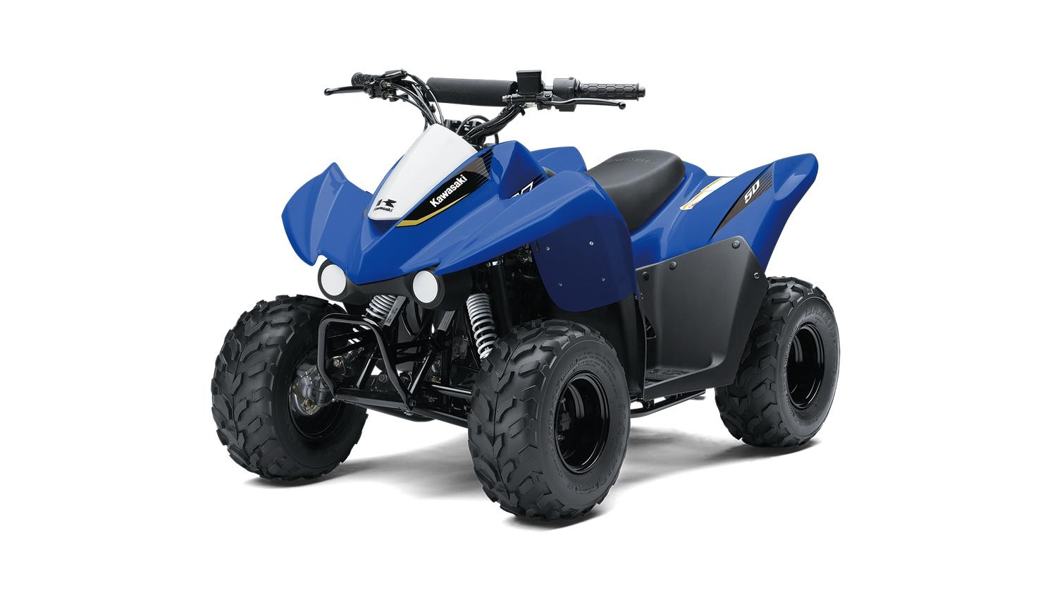 Kawasaki KFX50 Bleu Vibrant 2020