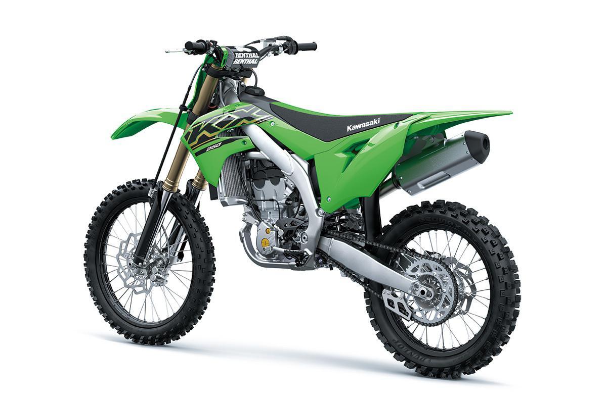 2021 Kawasaki KX250 Lime Green