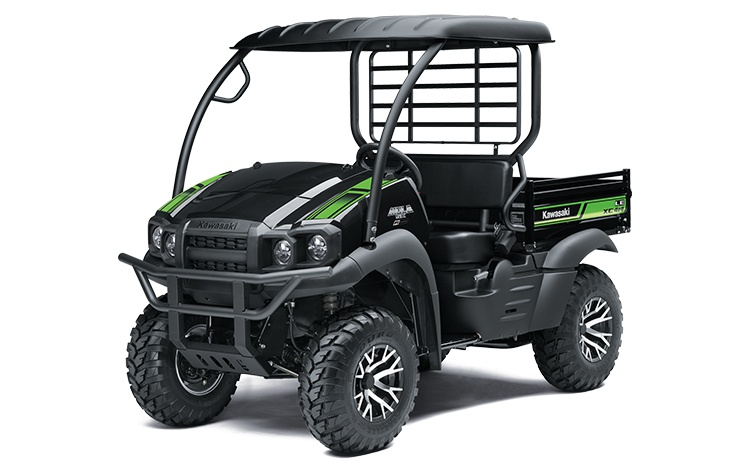 2021 Kawasaki MULE SX 4x4 XC LE FI Metallic Onyx Black