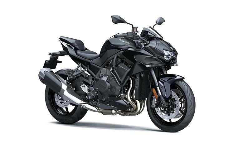 Kawasaki Z H2 Noir Diablo Métallisé / Noir Étincelle Mat Métallisé 2021
