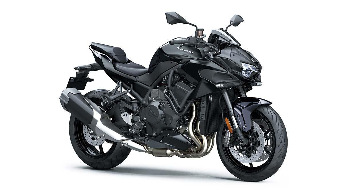2020 Kawasaki Z H2 Metallic Diablo Black/Metallic Spark Black
