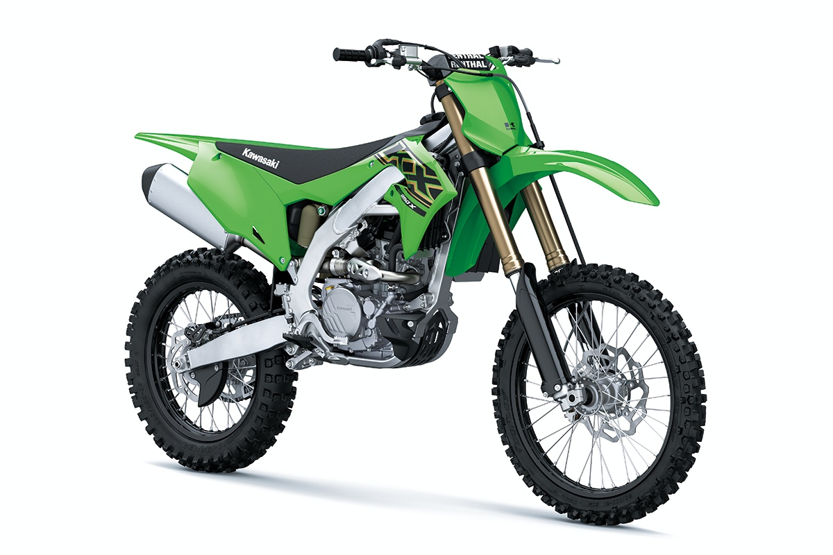 2021 Kawasaki KX250X Lime Green