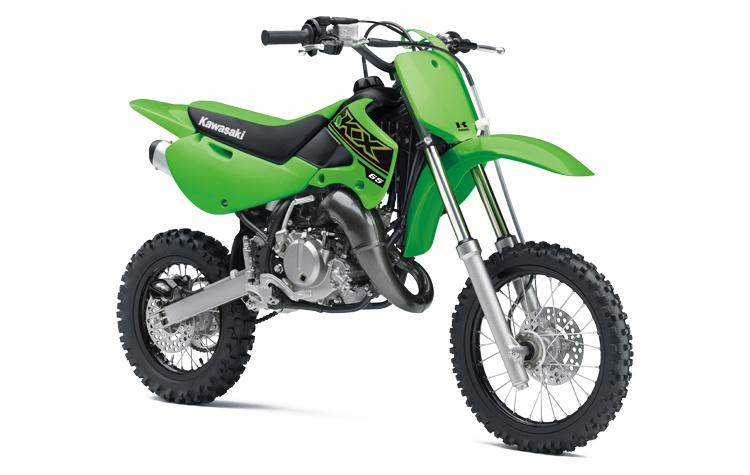 2021 Kawasaki KX65 Lime Green