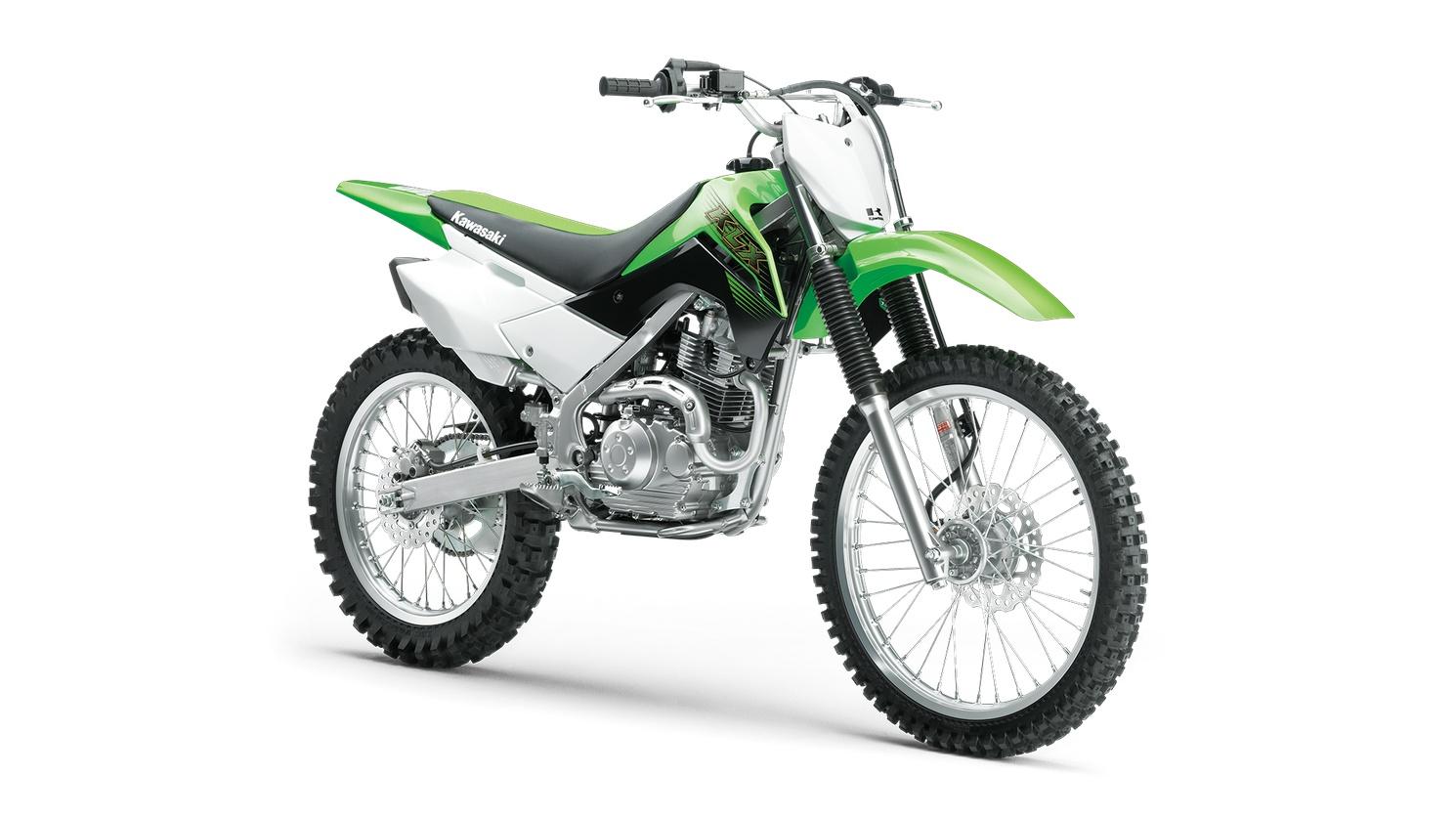 2020 Kawasaki KLX140G Lime Green