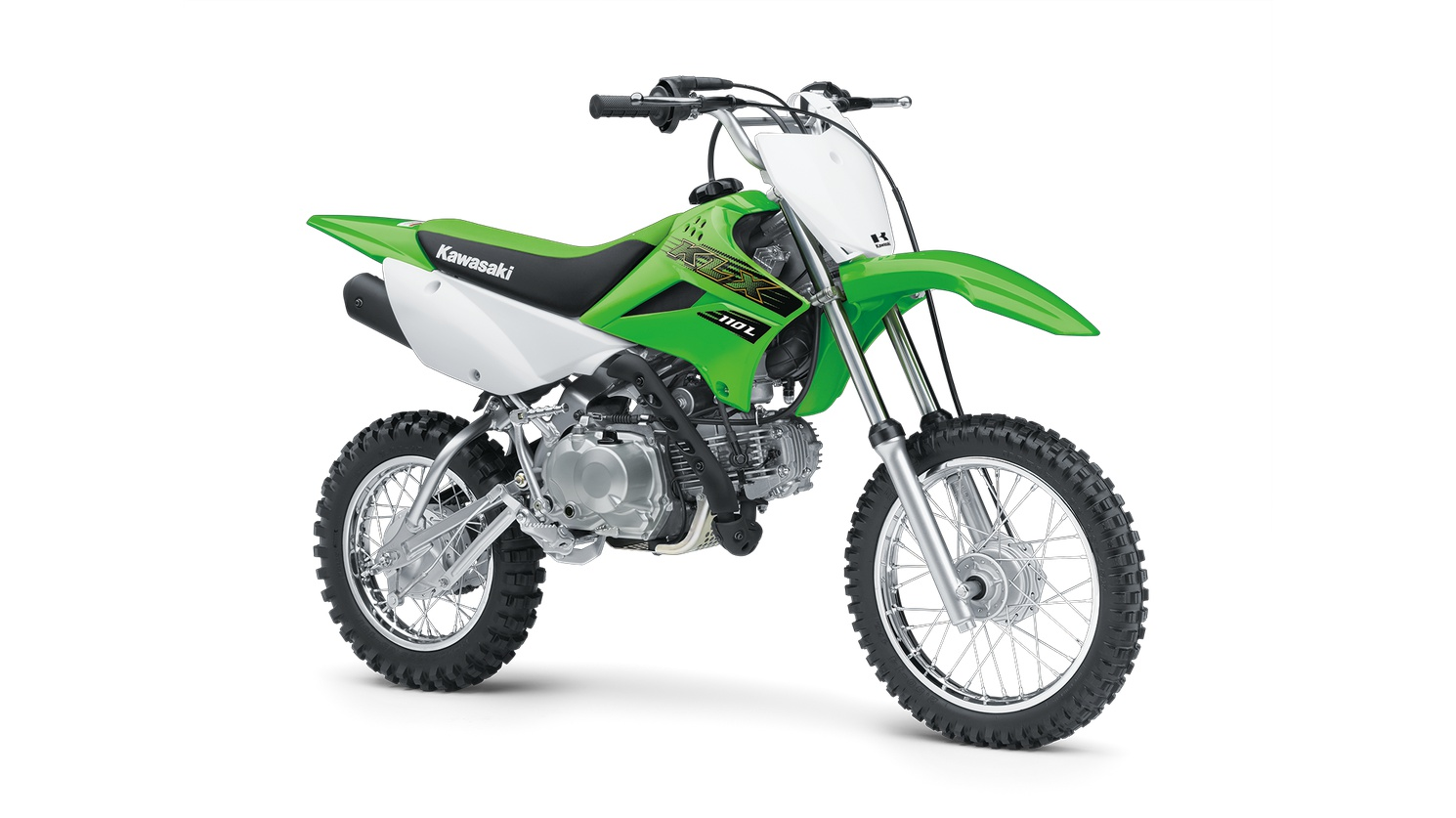 2020 Kawasaki KLX110L Lime Green