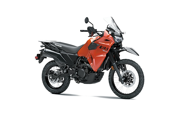Kawasaki KLR650 Orange Lave Perle 2022