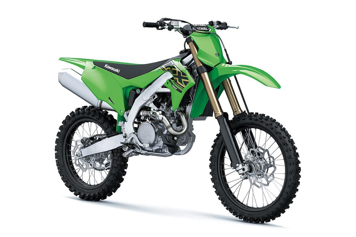 2021 Kawasaki KX450 Lime Green