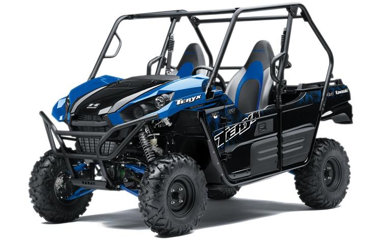 Kawasaki TERYX Bleu Vibrant 2021