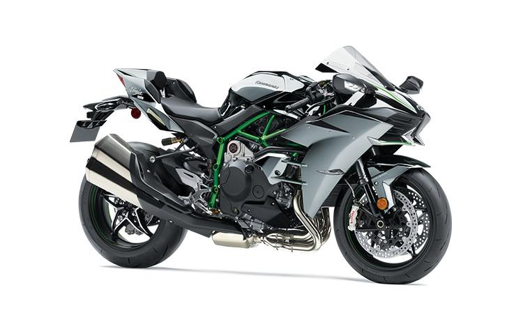 Kawasaki NINJA H2 Noir Étincelle Enduit Miroir 2021