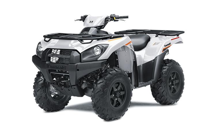 2021 Kawasaki BRUTE FORCE 750 4x4i EPS Bright White
