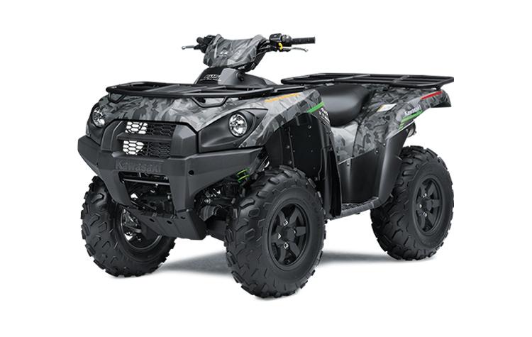2021 Kawasaki BRUTE FORCE 750 4x4i EPS Fragment Camo Gray