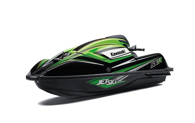 Kawasaki JET SKI SX-R Ébène / Vert Lime 2021