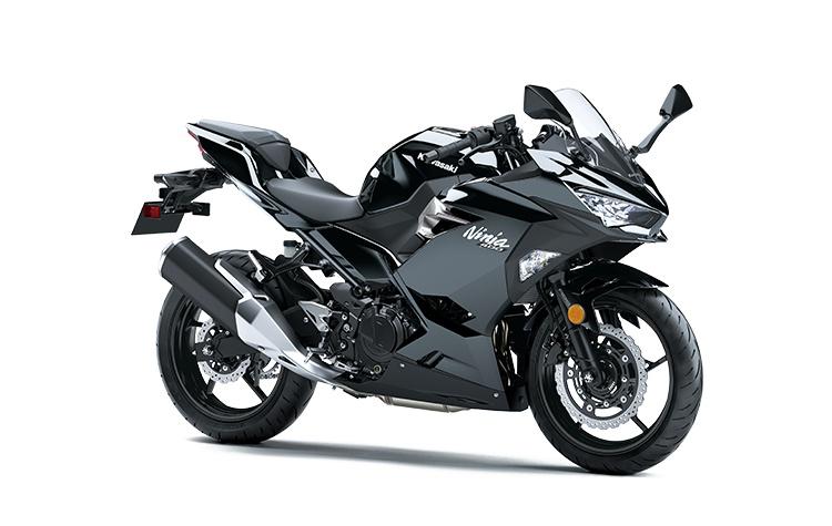Kawasaki NINJA 400 ABS Noir Étincelle Métallisé 2021