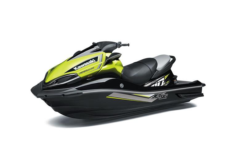 Kawasaki JET SKI ULTRA 310X Ébène / Jaune Néon Perle 2021