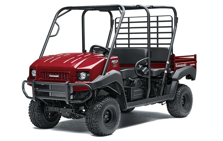 2021 Kawasaki MULE 4010 TRANS4x4 Dark Royal Red