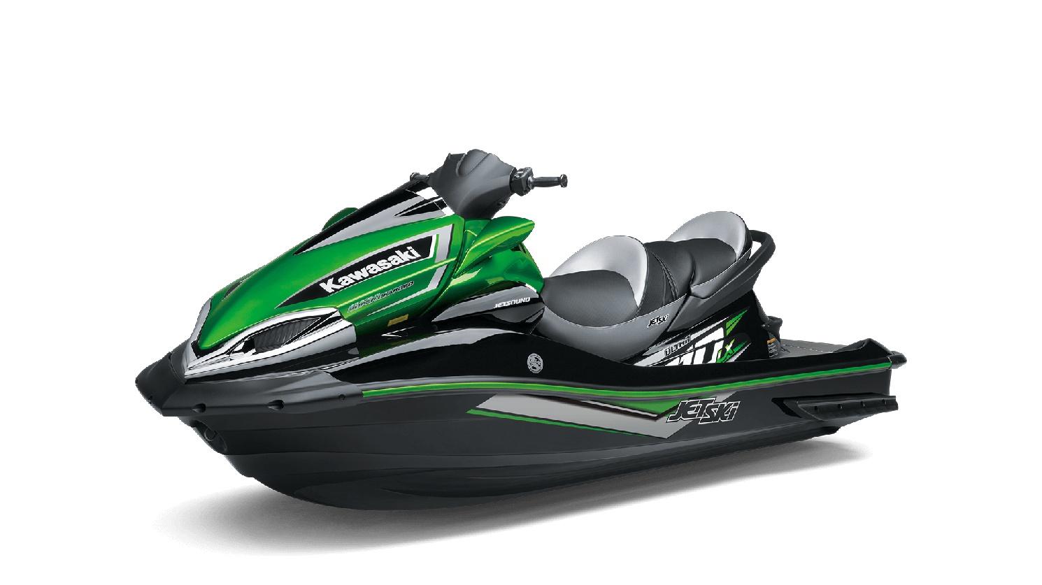 Kawasaki JET SKI ULTRA 310LX Ébène / Vert Lime Bonbon 2019