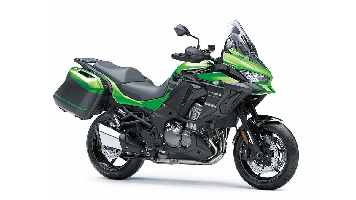 Kawasaki VERSYS 1000 ABS LT Vert Lime Bonbon / Noir Étincelle Métallisé 2020