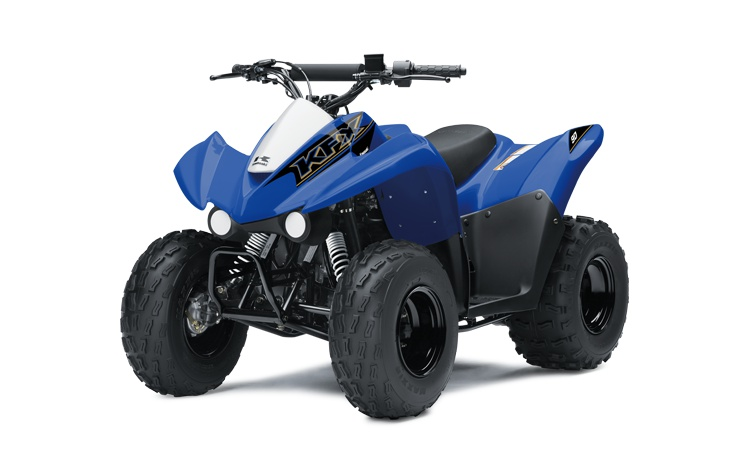 Kawasaki KFX90 Bleu Vibrant 2021