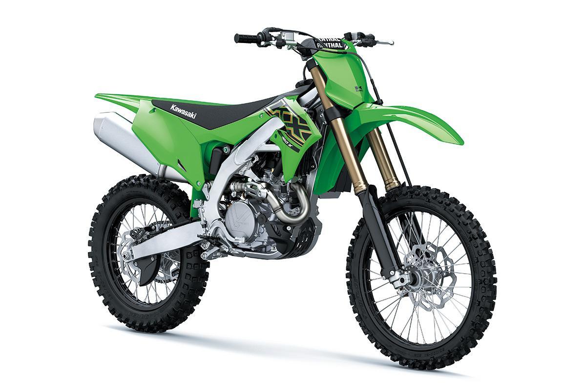 2021 Kawasaki KX450X Lime Green