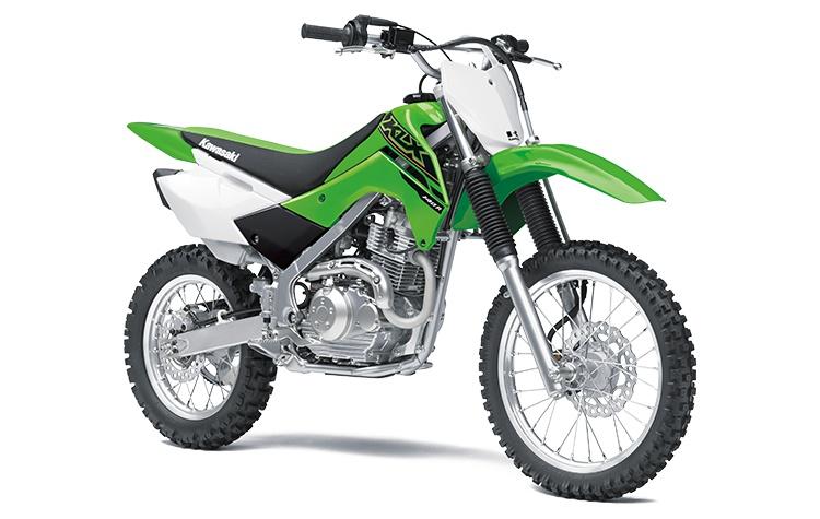 2021 Kawasaki KLX140R Lime Green