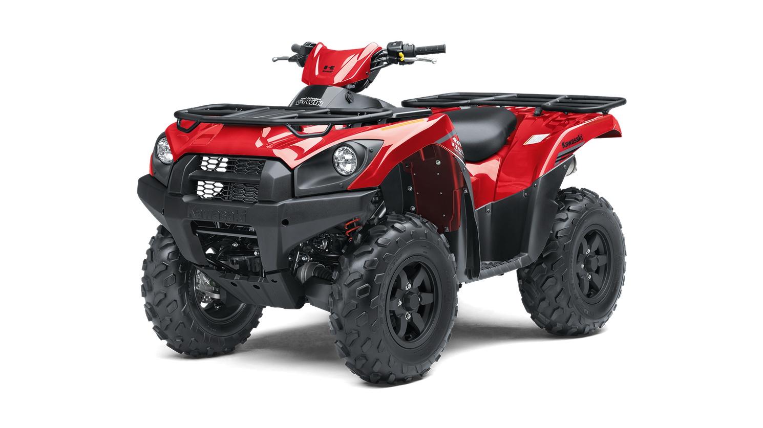 2020 Kawasaki BRUTE FORCE 750 4x4i Firecracker Red