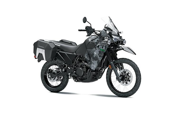 2022 Kawasaki KLR650 ADVENTURE Cypher Camo Gray