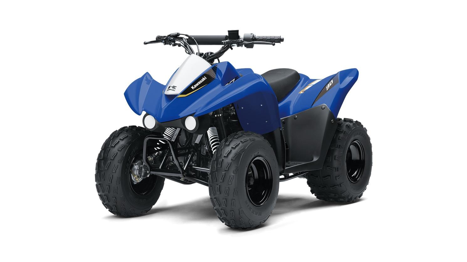Kawasaki KFX90 Bleu Vibrant 2020
