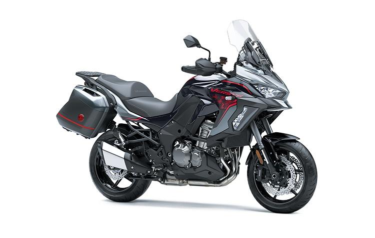 Kawasaki VERSYS 1000 ABS LT SE Gris Orageux Perle/Noir Diablo Métallisé/Noir Étincelle Mat Métallisé 2021