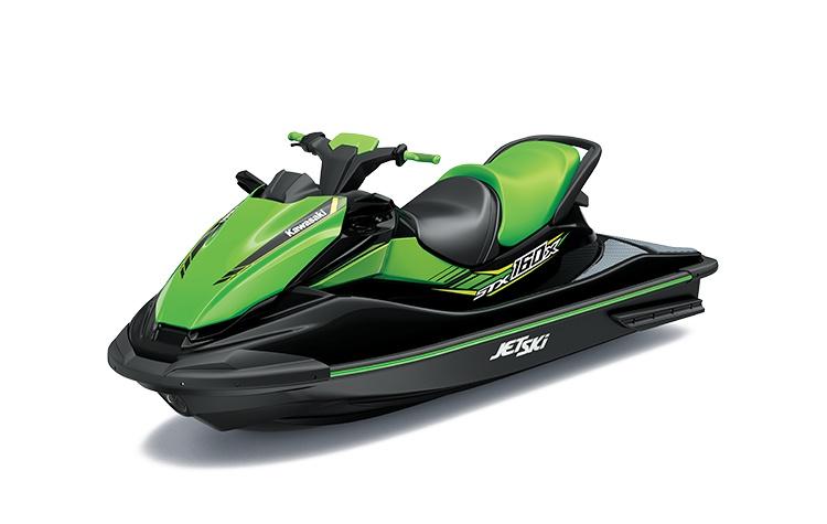 Kawasaki JET SKI STX 160X Ébène / Vert Lime 2021