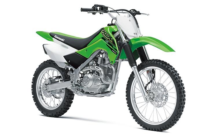 2021 Kawasaki KLX140R L Lime Green