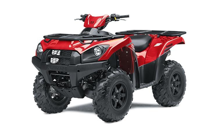 2021 Kawasaki BRUTE FORCE 750 4x4i Firecracker Red