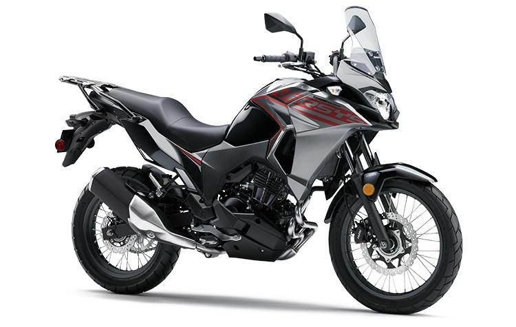 2021 Kawasaki VERSYS-X 300 ABS Metallic Graphite Gray / Metallic Spark Black