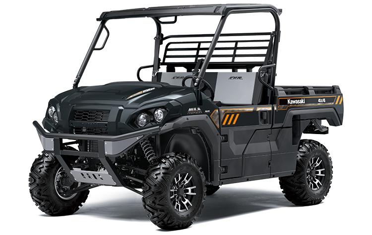 Kawasaki MULE PRO-FXR Gris Carbone Métallisé 2021