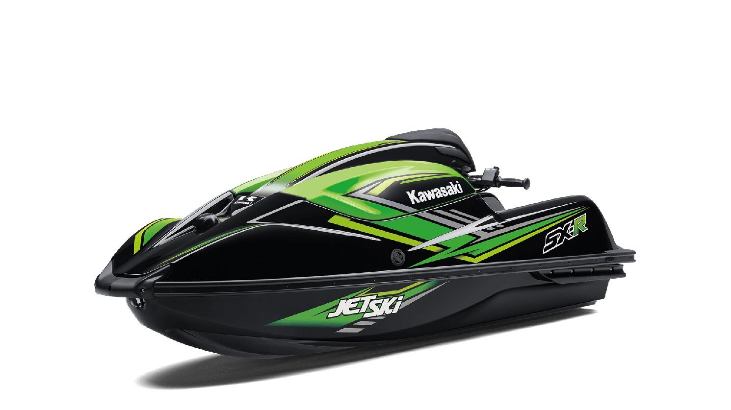 Kawasaki JET SKI SX-R Ébène / Vert Lime 2020