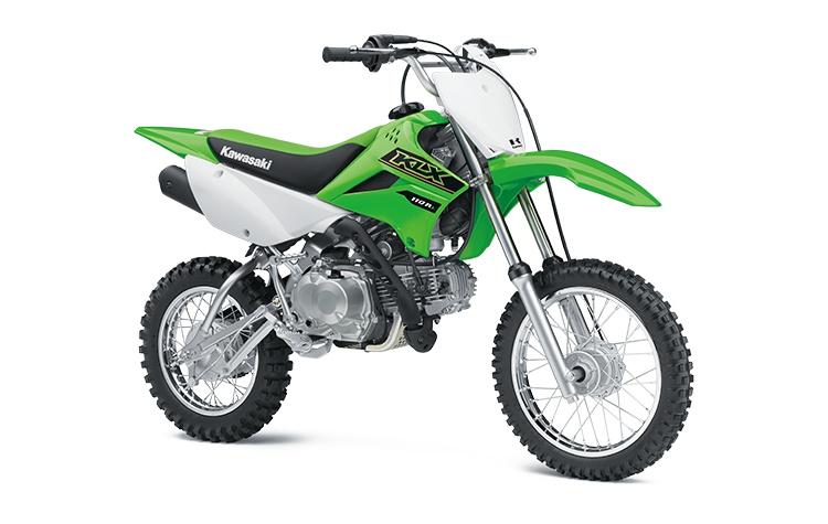 2021 Kawasaki KLX110R L Lime Green