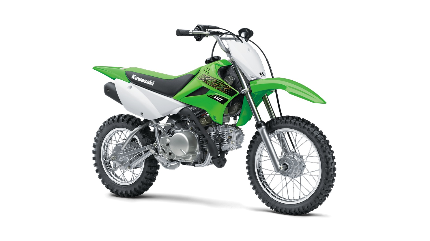 2020 Kawasaki KLX110 Lime Green