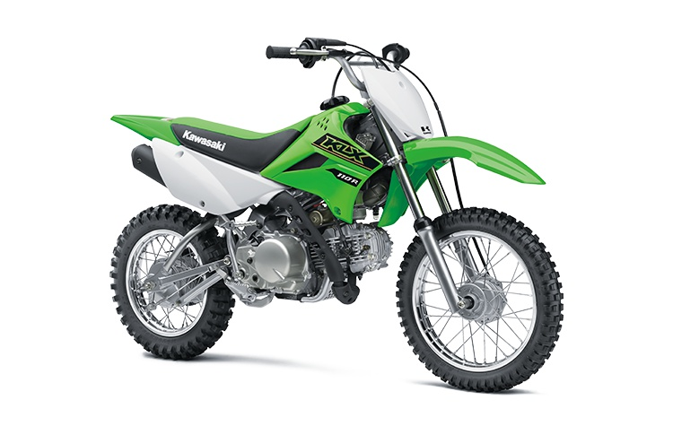 2021 Kawasaki KLX110R Lime Green