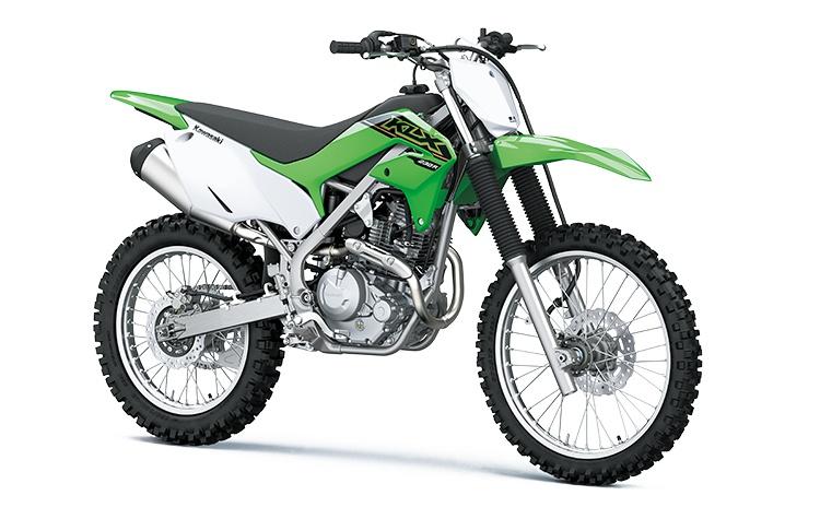 2021 Kawasaki KLX230R S Lime Green