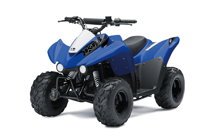 Kawasaki KFX50 Bleu Vibrant 2021