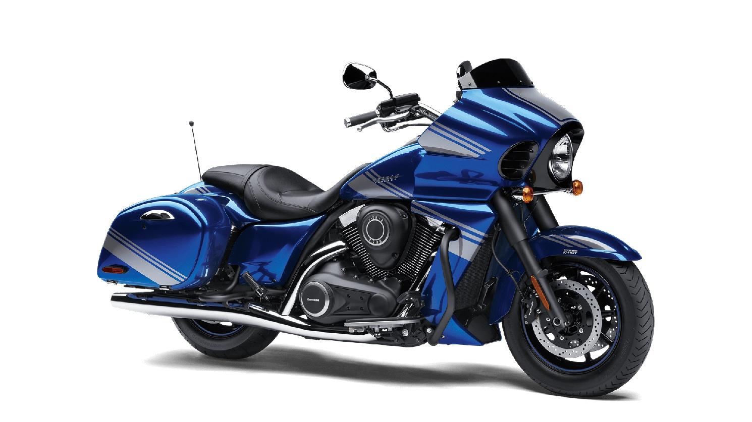 2020 Kawasaki VULCAN 1700 VAQUERO ABS Candy Imperial Blue