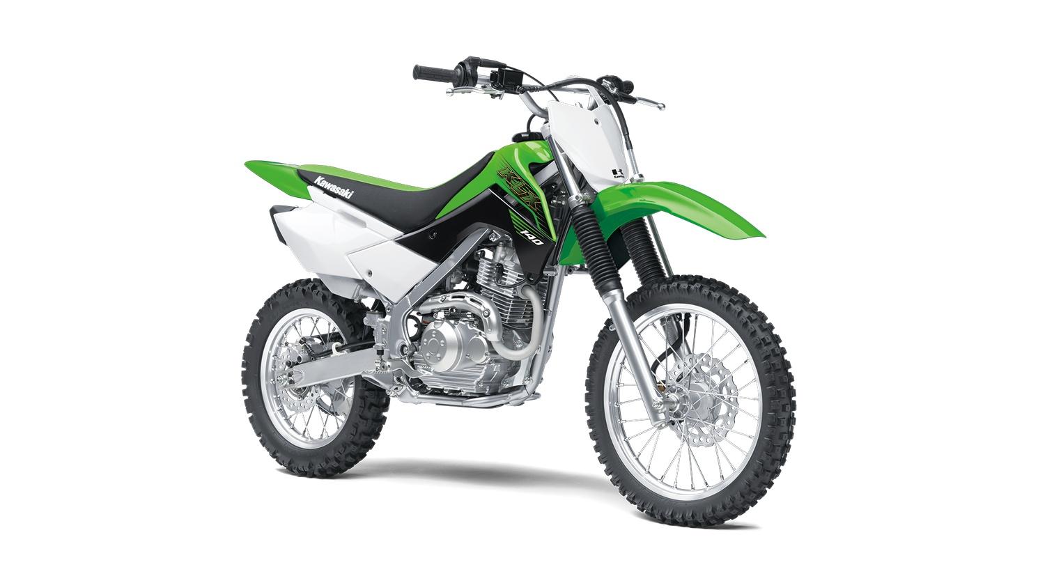 2020 Kawasaki KLX140 Lime Green
